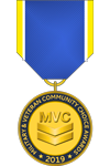 Military and Veteran Community Choice Awards Medal
