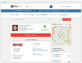 REALTORS® Detail Screen Preview